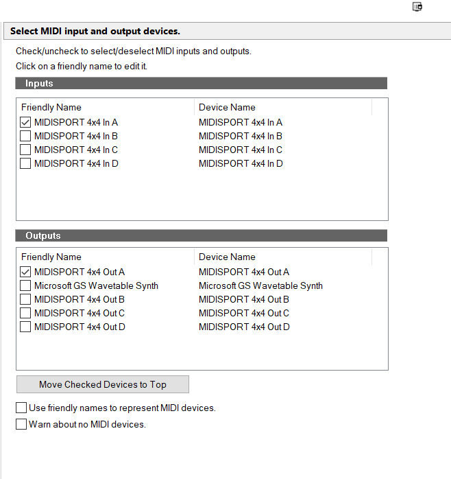 Solved] MIDI input no longer getting to Sonar | Cakewalk Forums